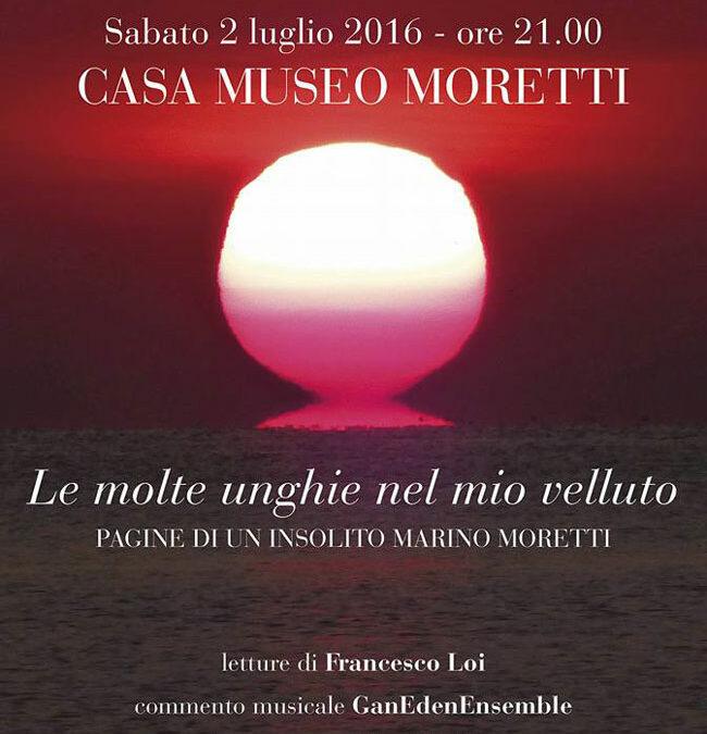 Le molte unghie nel mio velluto… pagine di un insolito Marino Moretti